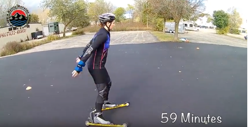 A New Approach to Roller Skiing!